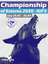 Championship of Estonia 2020 - IGP 3