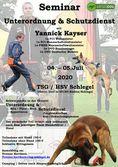 Seminar in B & C mit Yannick Kayser & Massimo Kienzler
