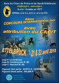4. Internationaler Wettkampf mit Vergabe des CACIT