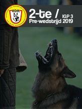 V.D.H. Pokale 2-te Pre-wedstrijd 2019 - IGP 3