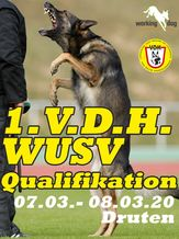 1. V.D.H. WUSV Qualifikation 2020