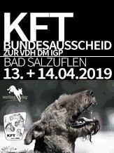 2019 KfT Bundesausscheid zur VDH DM IGP 3 2019 - IGP 3