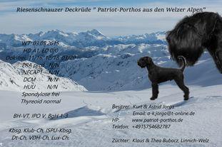 Patriot-Porthos aus den Welzer Alpen