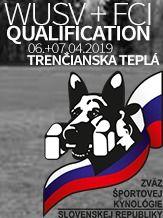 2019 1. kvalifikačných pretekoch na Majstrovstvá sveta WUSV a FCI 2019 - IGP 3