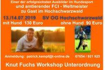 Knut Fuchs Unterordnungsworkshop