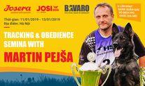 Tracking & Obidience Semina with Martin Pejsa