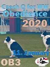 Czech Q for WW 2020 Obedience - OB3