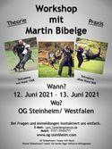 Workshop mit Martin Bibelge
