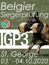2020 Belgier Siegerprüfung IGP 3 - IGP 3