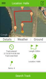 Track details